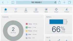 interface WD 300x169 - Test du WD My Passport Wireless Pro