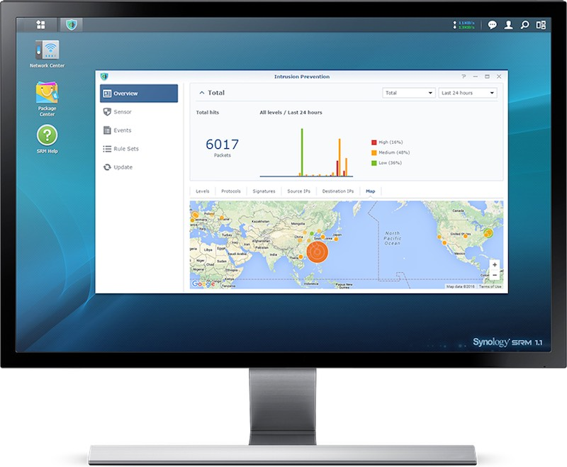 intrusion prevention synology - Synology Router Manager (SRM) 1.1 est disponible