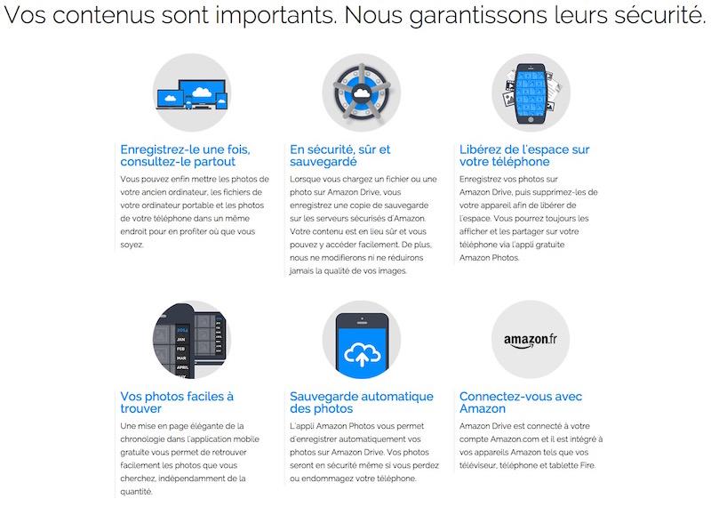 amazon drive atouts - Amazon Drive débarque en France