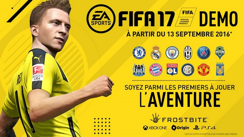 FIFA Demo - Fifa 17, la démo arrive demain