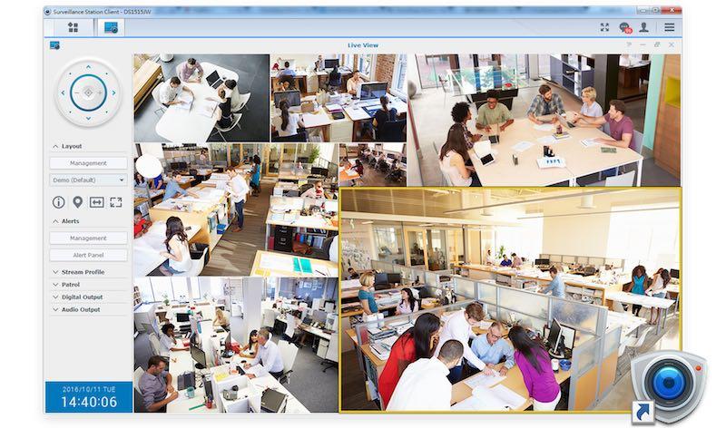 Client surveillance station - NAS - Synology Surveillance Station passe en version 8.0