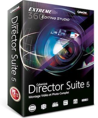 Director Suite 5 325x390 - Cyberlink supporte les caméras 360° et la 4K à l'honneur dans ses applications