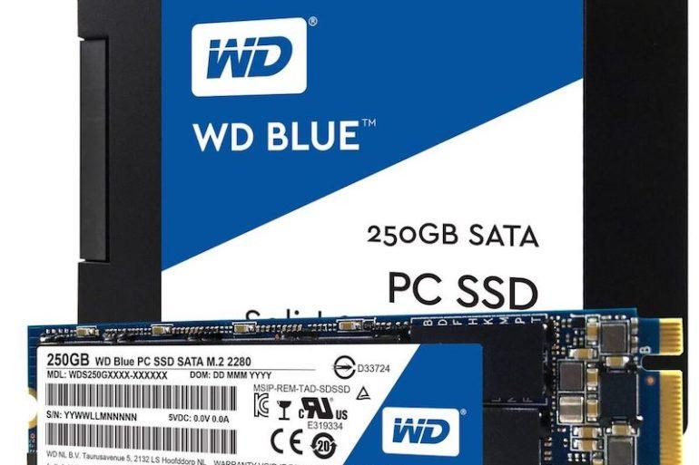SSD WD BLUE 770x513 - WD lance ses premiers SSD pour le grand public