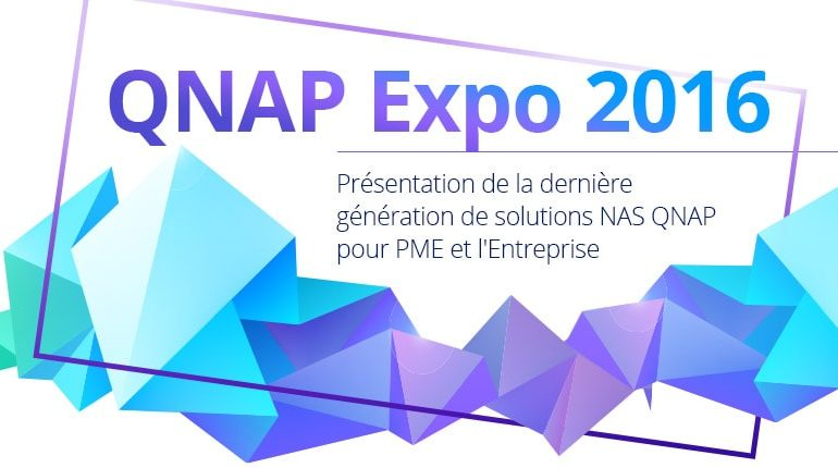 qnap expo 2016 770x430 - QNAP Expo 2016 - QTS 4.3, QNAP TS-251a et TS-231p...