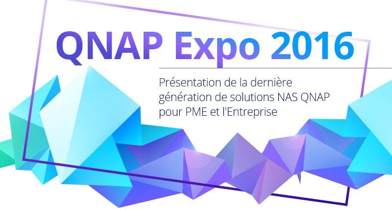 qnap expo 2016 - QNAP Expo 2016 - QTS 4.3, QNAP TS-251a et TS-231p...