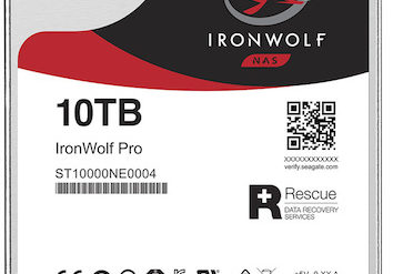 IRONWOLF PRO 354x247 - NAS - Le disque dur Seagate IronWolf Pro dévoilé...