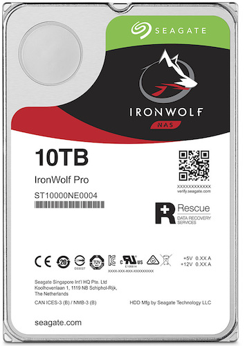 IRONWOLF PRO - NAS - Le disque dur Seagate IronWolf Pro dévoilé...