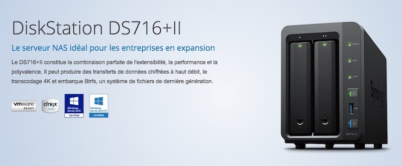 Synology DS716plus2 - NAS - Test du Synology DS716+II