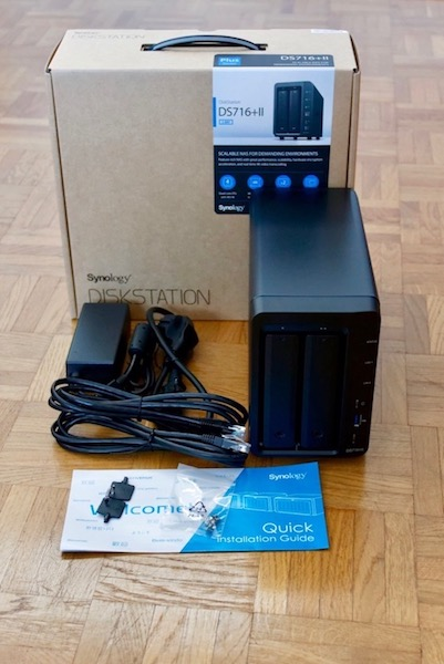 synology ds716II - NAS - Test du Synology DS716+II