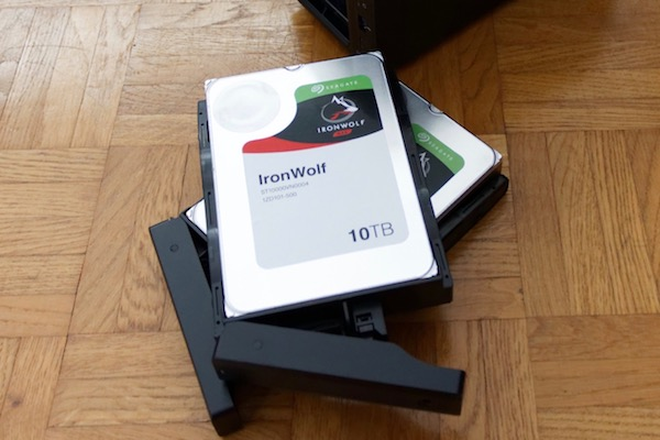 synology seagate ironwolf - NAS - Test du Synology DS716+II