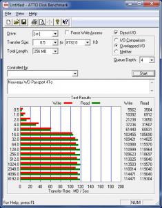 ATTO WD Passport 235x300 - Test disque dur WD My Passport 4To