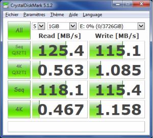 crystalDiskMark 300x272 - Test disque dur WD My Passport 4To