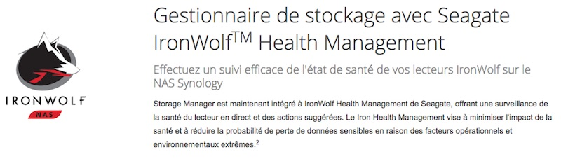 ironwolf synology - Synology : DSM 6.1 disponible pour tous les NAS à partir DSx11