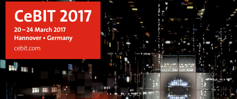 key cebit 2017 - NAS Synology DS117, DS217, DS417...