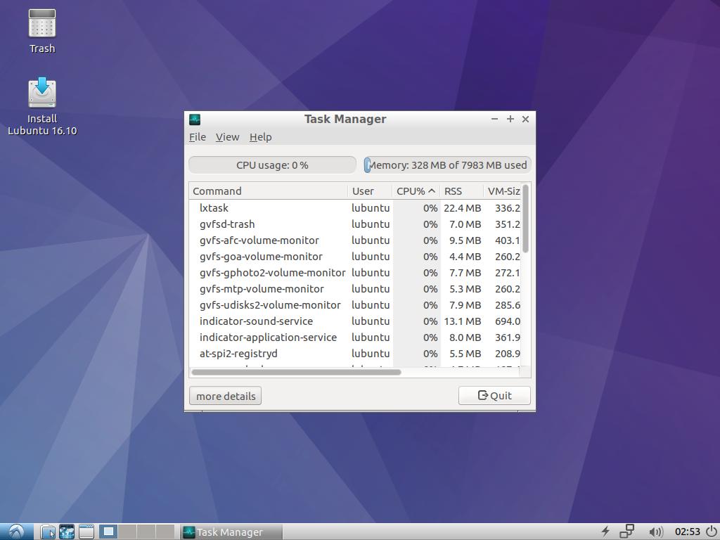 Lubuntu 16.10 - Medicat DVD - dépannage facile sur Windows