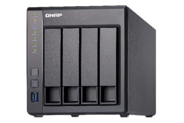 QNAP TS 431X 370x247 - QNAP annonce le TS-431X, un NAS 4 baies entrée de gamme intégrant un port SFP+ 10GbE