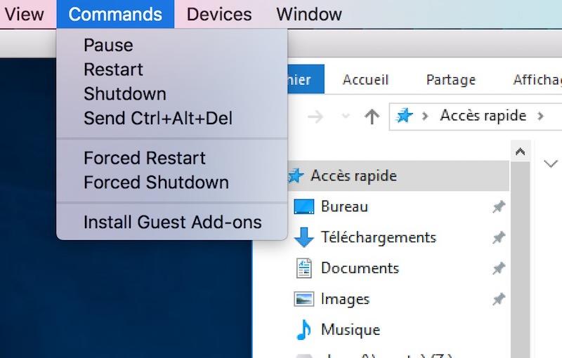 install guest add ons - Veertu, la virtualisation sous Mac gratuite