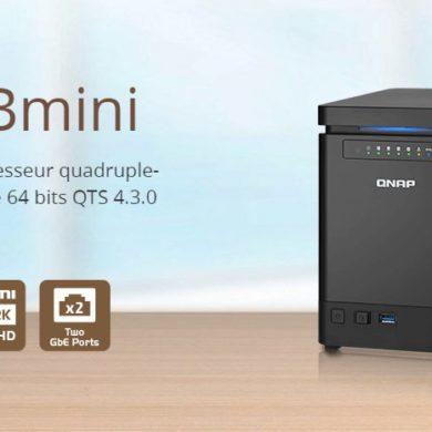 qnap ts 453bmini 390x390 - QNAP annonce le TS-453Bmini