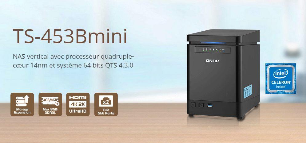 qnap ts 453bmini - QNAP annonce le TS-453Bmini