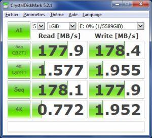 6To esata 300x273 - Test disque dur Toshiba N300 spécial NAS