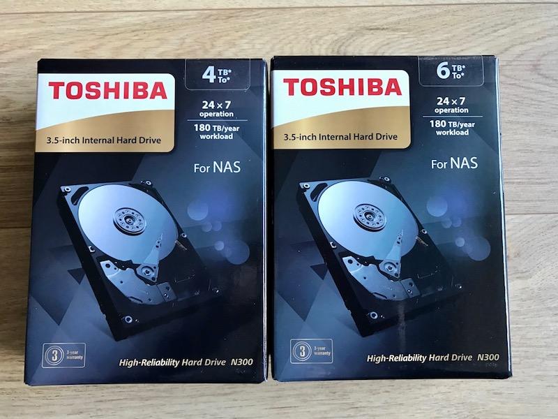 N300 - Test disque dur Toshiba N300 spécial NAS
