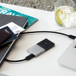 Wd My Passport SSD 293x293 - Western Digital lance le WD My Passport SSD : USB 3.1, jusqu'à 1 To, 515 Mo/sec...
