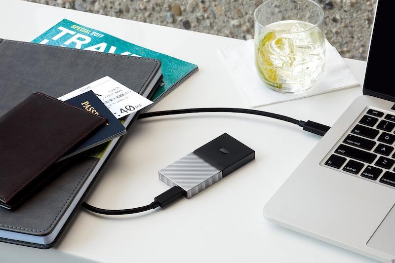 Wd My Passport SSD - Western Digital lance le WD My Passport SSD : USB 3.1, jusqu'à 1 To, 515 Mo/sec...