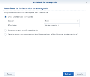 asistant sauvegarde 300x255 - NAS Synology et Amazon Drive