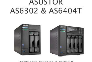 asustor as6302T as6404T 370x247 - Asustor lance ses nouveaux NAS : séries AS63 et AS64