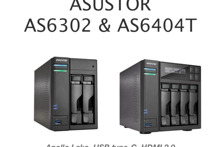 asustor as6302T as6404T 770x513 - Asustor lance ses nouveaux NAS : séries AS63 et AS64