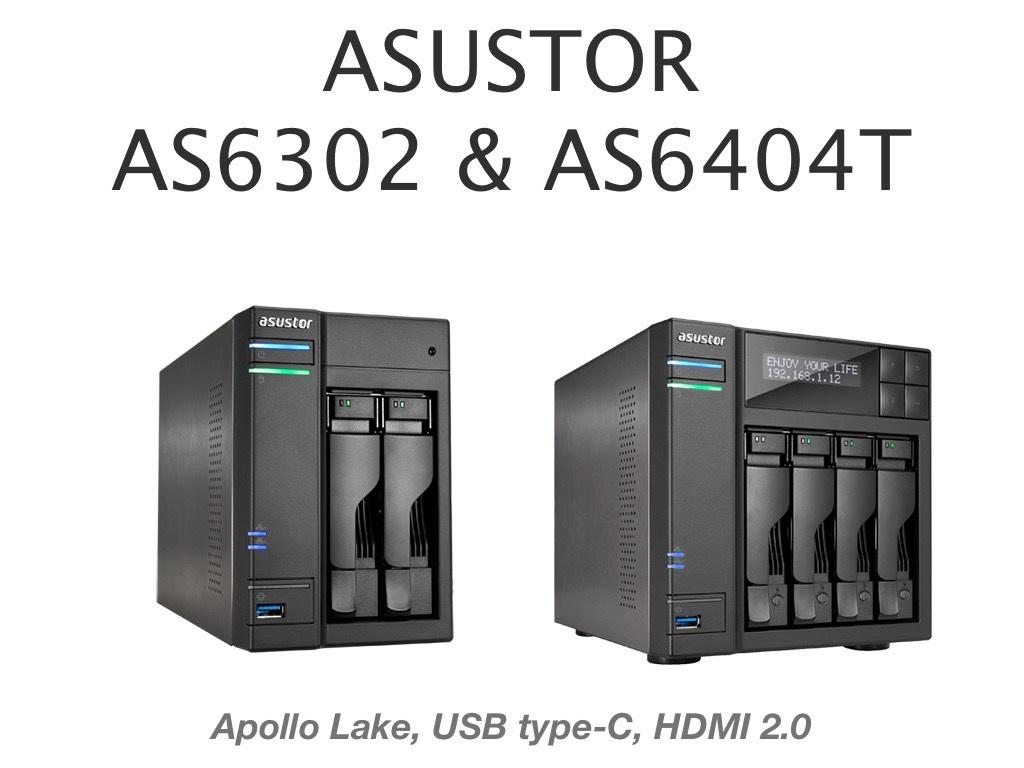 asustor as6302T as6404T - Asustor lance ses nouveaux NAS : séries AS63 et AS64