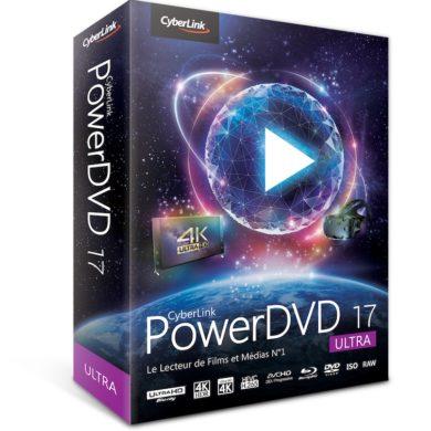box PDVD17 ultra fra l 390x390 - PowerDVD 17 - Vidéos en HDR, réalité virtuelle et...