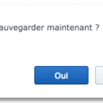 sauvegarde maintenant 150x150 - NAS Synology et Amazon Drive
