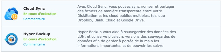 synology cloud sync hyper backup - NAS Synology et Amazon Drive
