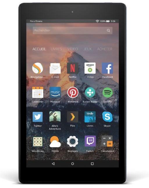 Amazon Fire HD 8 - Amazon Fire, les nouvelles tablettes à partir de 55€ le 7 juin