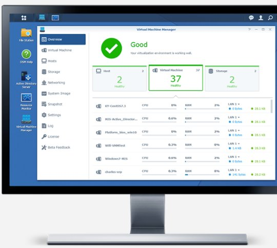 Virtual Machine Manager Synology - Virtualiser Windows, Linux et DSM sur un NAS Synology c'est désormais possible