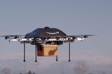 amazon prime air 370x247 - Amazon ouvre un centre de développement Prime Air en France, livraison en 30 minutes max