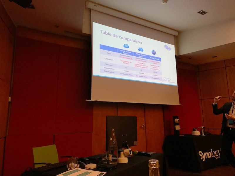 cloud syncrhonisation sauvegarde - Workshops Synology 2017