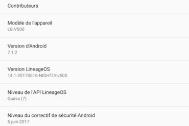 IlneageOS 712 370x247 - Android - LineageOS 14.1 s'améliore encore...