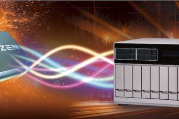 QNAP RYZEN 370x247 - Computex 2017 - Qnap annonce 3 NAS TS-x77 et le RAID 50/60