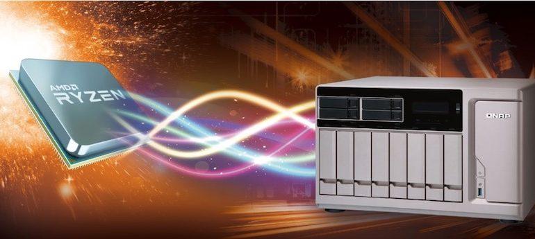 QNAP RYZEN 770x345 - Computex 2017 - Qnap annonce 3 NAS TS-x77 et le RAID 50/60