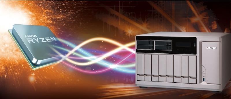 QNAP RYZEN - Computex 2017 - Qnap annonce 3 NAS TS-x77 et le RAID 50/60