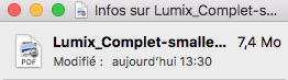 lumix pdf apres - Mac - Compresser un fichier PDF en 5 secondes...