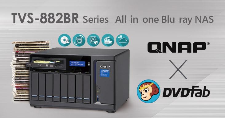 qnap dvdfab - QNAP s'associe avec DVDFab pour ripper vos Blu-Ray & DVD