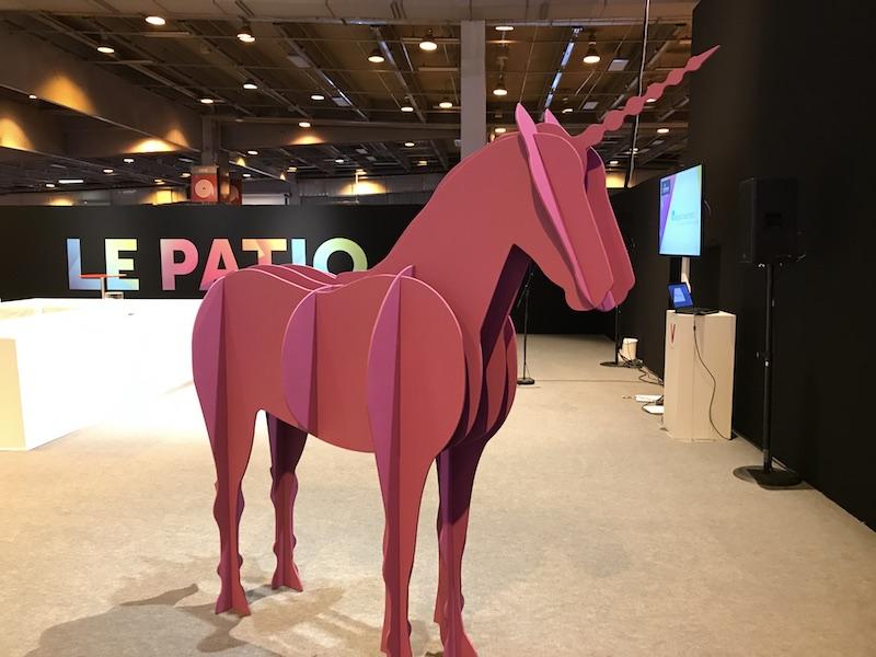 unicorn licorne - Le Vivatech attire toujours autant de monde... voir plus