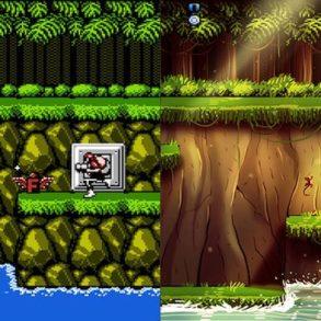 Contra 293x293 - Des jeux vidéo cultes revisités...