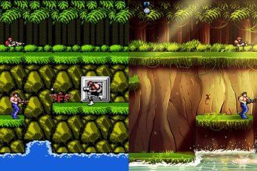 Contra 370x247 - Des jeux vidéo cultes revisités...