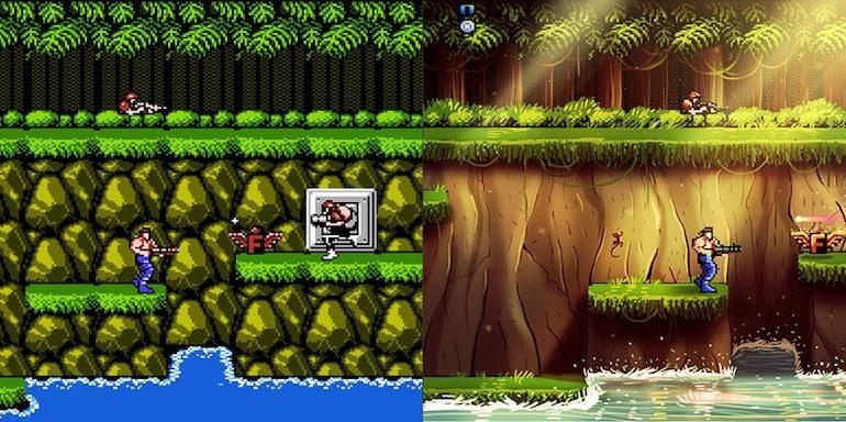 Contra 770x384 - Des jeux vidéo cultes revisités...