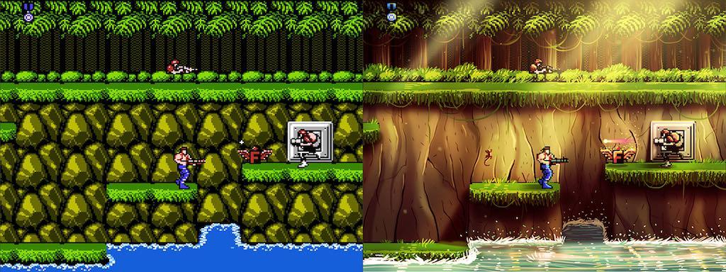 Contra - Des jeux vidéo cultes revisités...