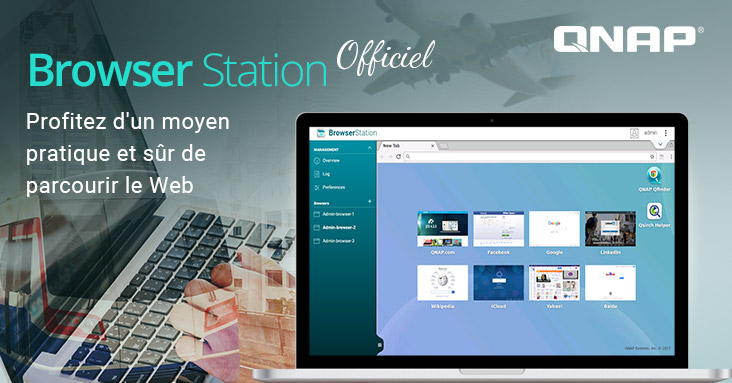 QNAP Browser Station - NAS - QNAP lance officiellement Browser Station